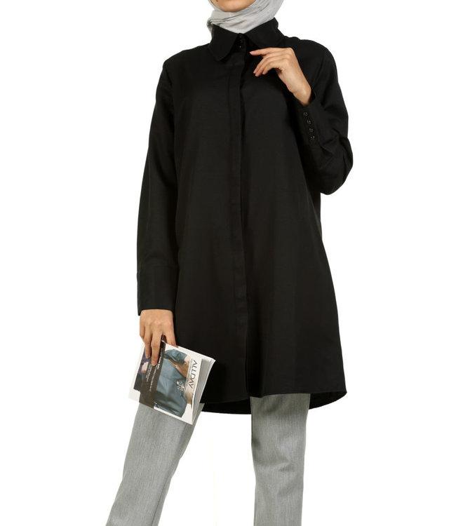 ALLDAY Long blouse - black
