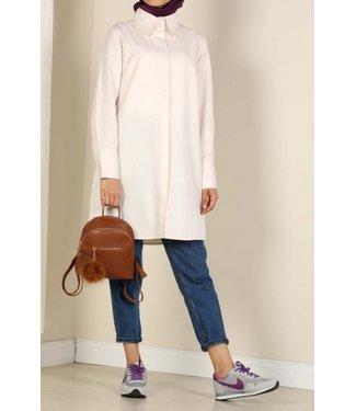 ALLDAY Long blouse - Light pink