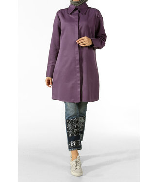 ALLDAY Long blouse - Purple