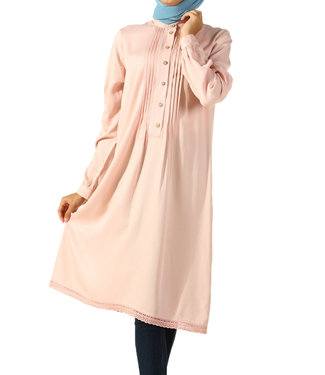 ALLDAY Long tunic / blouse - Baby Pink