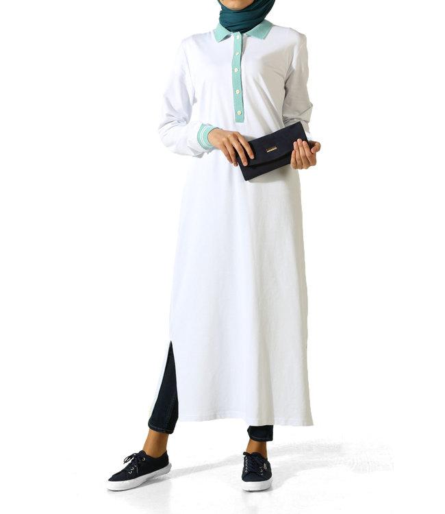 ALLDAY Long tunic - white