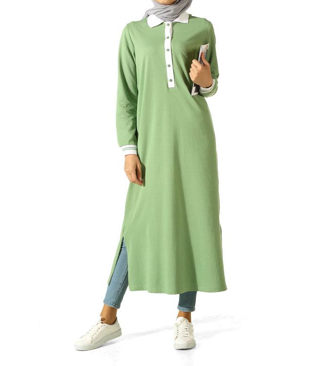 ALLDAY Long tunic - Light green