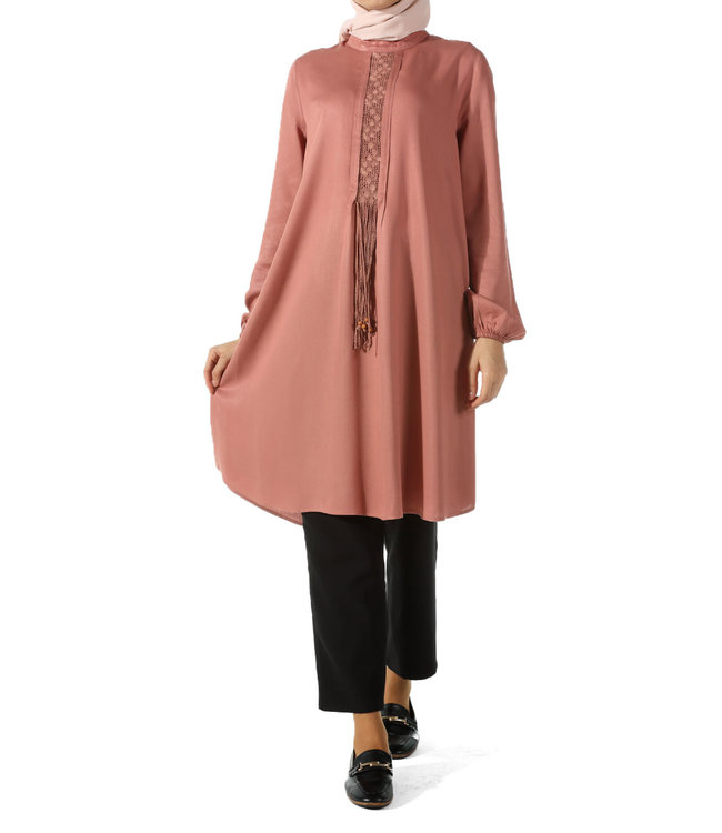 ALLDAY Tunic - Old Pink