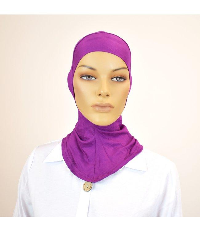 Bottom cap - Dark violet
