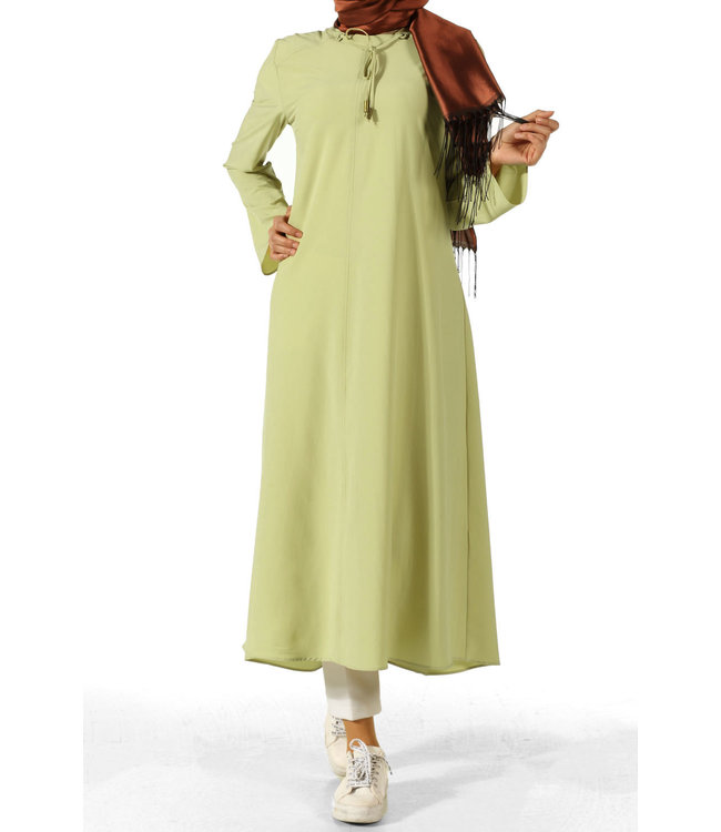 ALLDAY Extra long Tunic - Honeydew
