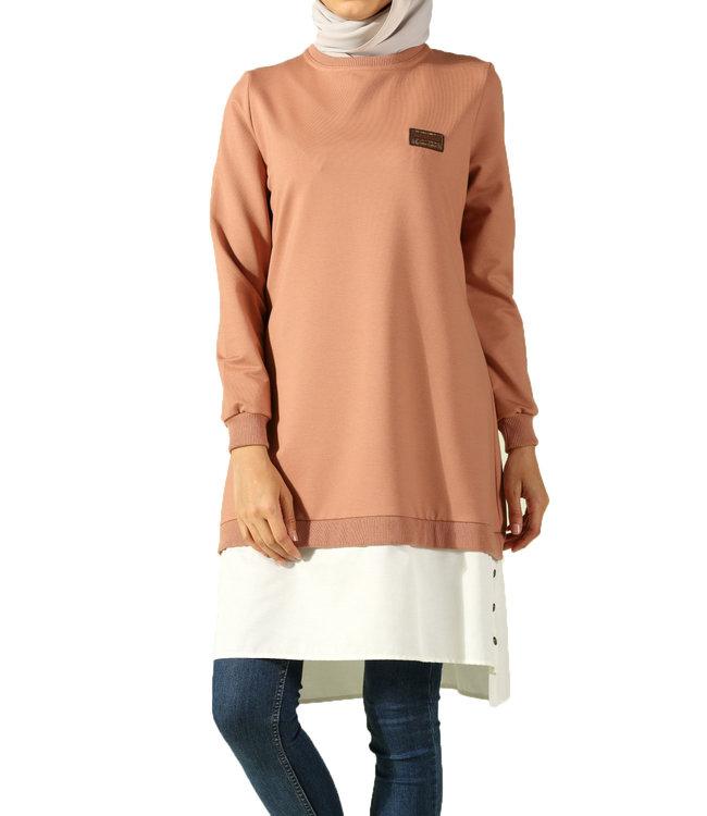 ALLDAY Tunic - Lavender blouse