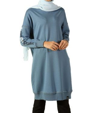 ALLDAY Lange sweater - Hemelsblauw