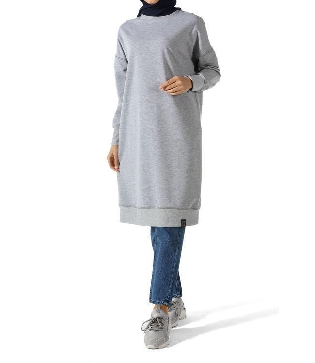 ALLDAY Lange sweater - Grijs