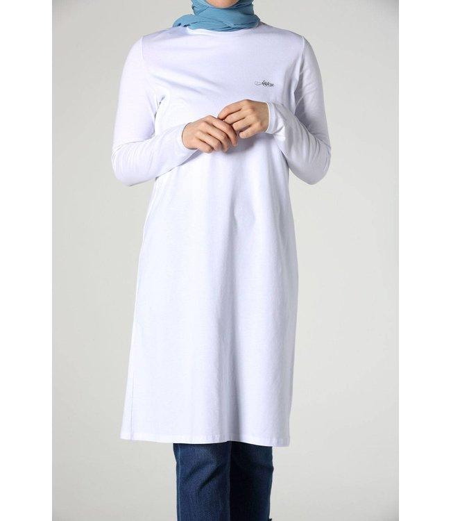 ALLDAY Simple top - white
