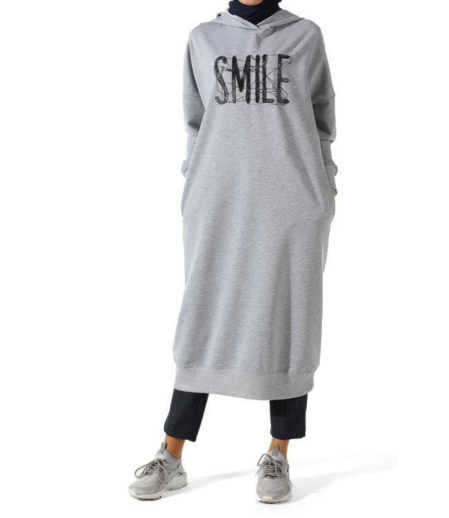 ALLDAY Long hoodie - Gray