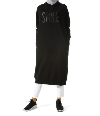 ALLDAY Long hoodie - Black