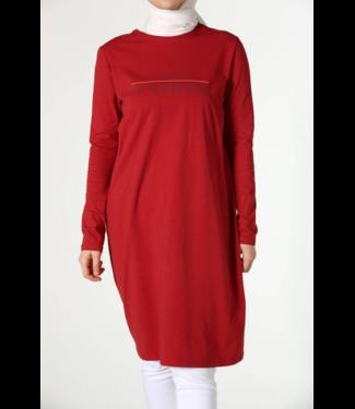 ALLDAY Long top - Red