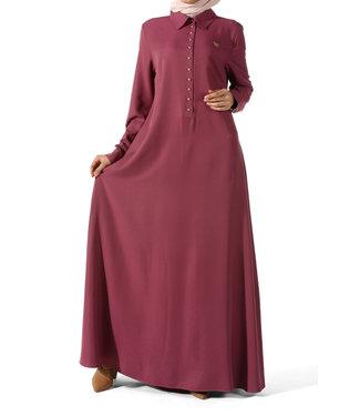 ALLDAY Abaya - Old pink