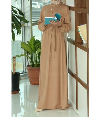 ALLDAY Abaya - Light brown
