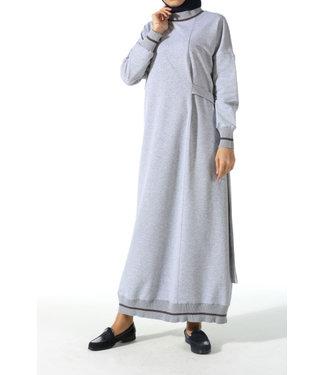 ALLDAY Sportief design jurk - Grijs