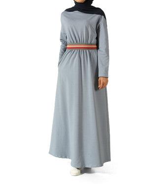 ALLDAY Sportief design jurk - Licht blauw
