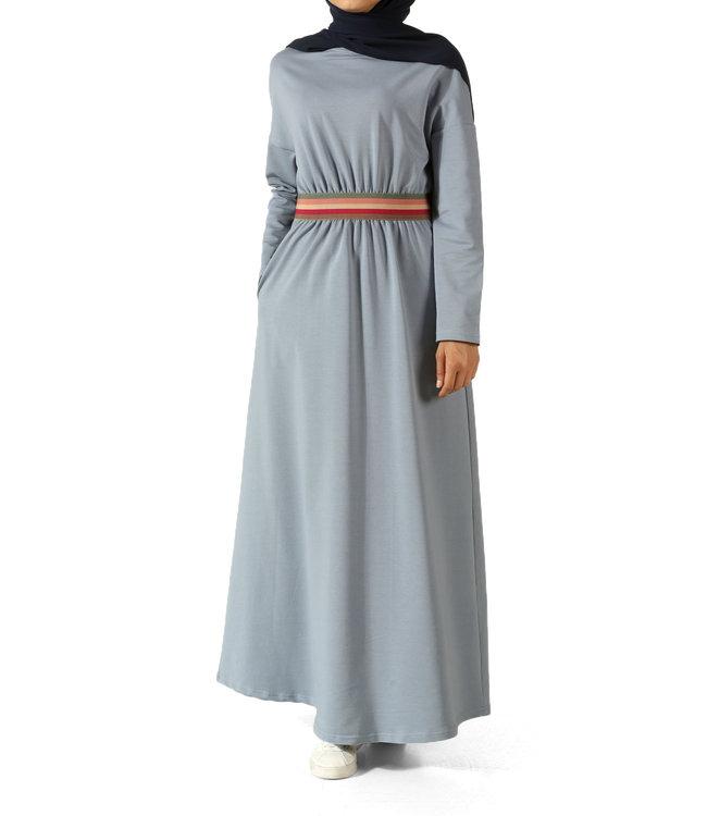 ALLDAY Sporty design dress - Light blue