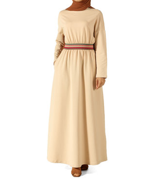ALLDAY Comfortable dress - Beige