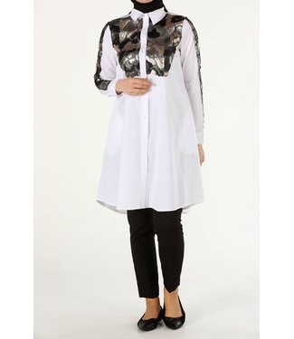 Long blouse - White