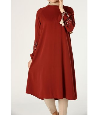 ALLDAY Tunic - Dark red