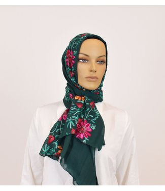 Sófani Scarf - Dark green