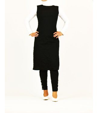 Sófani Pants and tunic set - Black