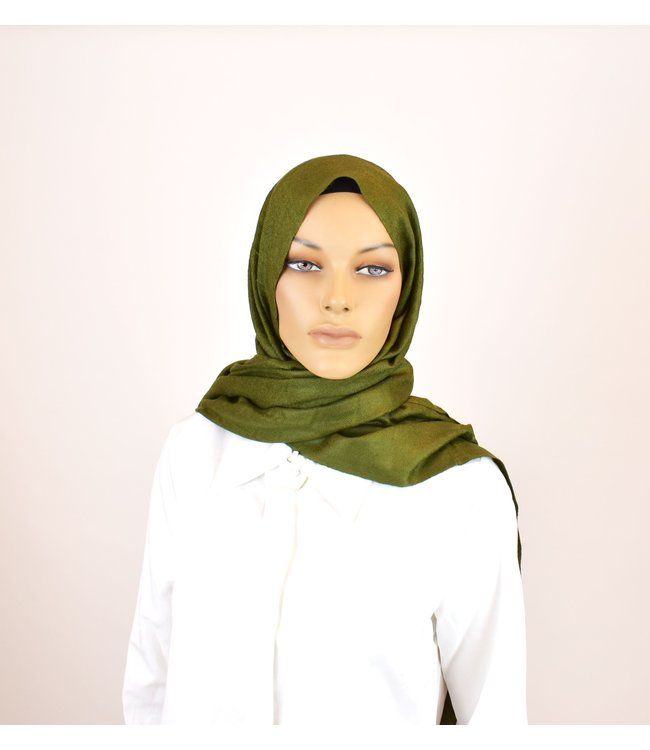 Sófani Luxury pashmina - Dark olive green