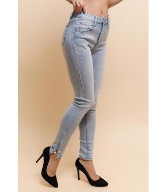 Skinny jeans - Hemelsblauw