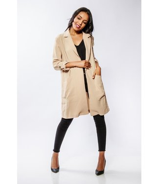 Open vest - Taupe