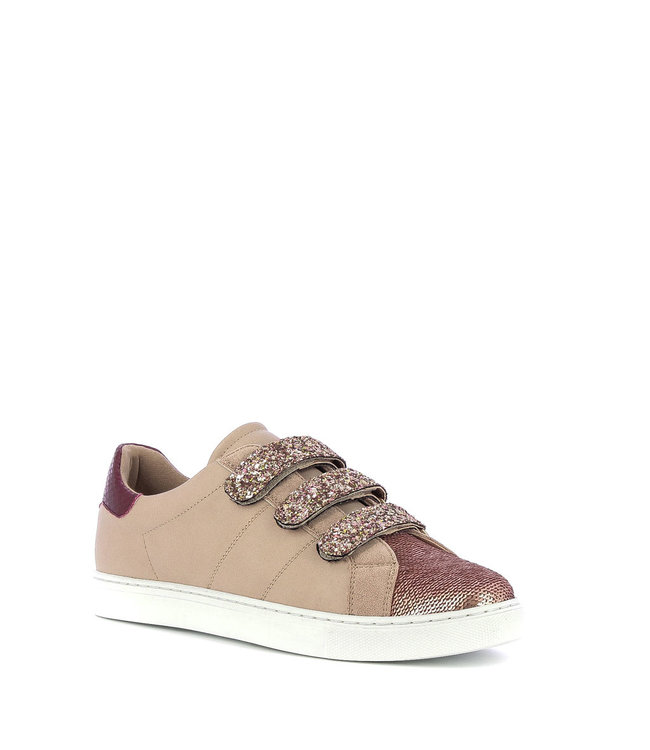 VANESSA WU Sneakers met glitters - Roze