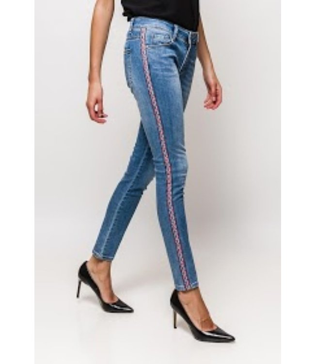 Jeans ethnic style - Blue