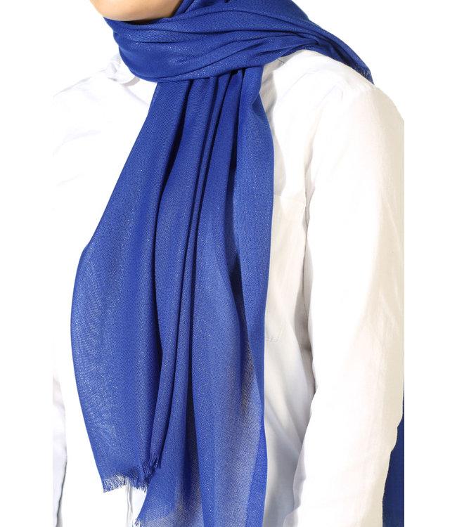 AYDIN Katoenen sjaal - Blauw