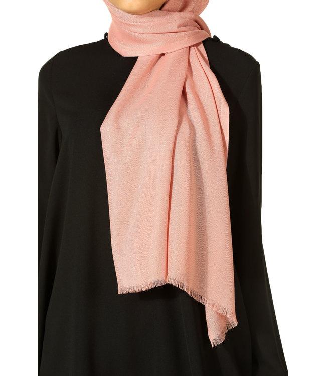 Aydin Cotton scarf - Pink