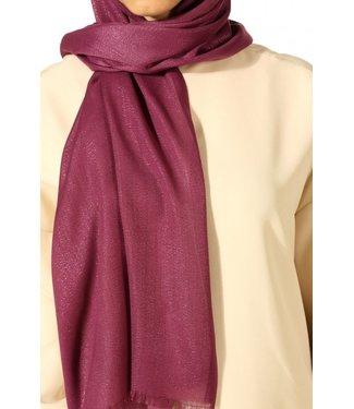Aydin Cotton scarf - begonia