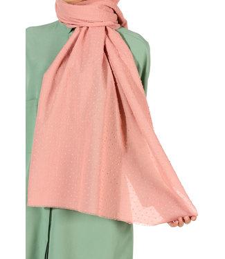 Plumetis scarf - Pink
