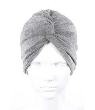zilverachtige turban - Zilver