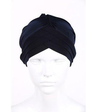 Turban - Donkerblauw