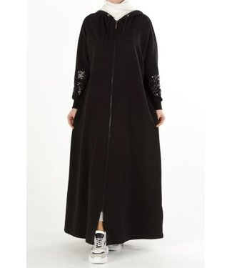 Comfortable abaya - Black