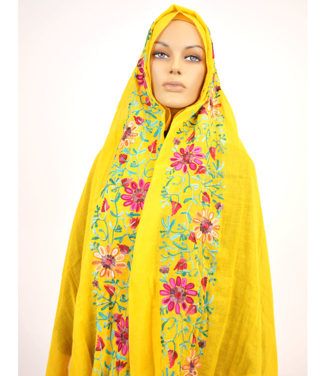 Sófani Scarf - Yellow