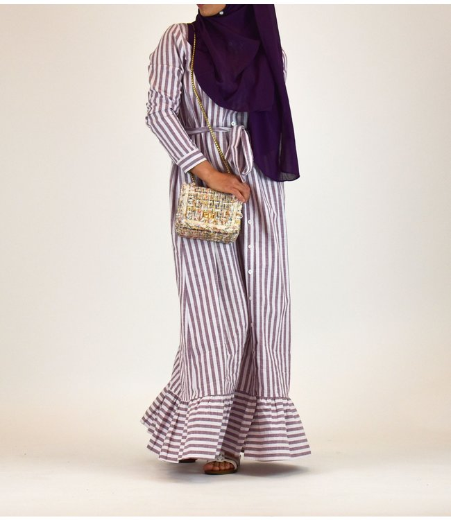 Outfit stripes dress