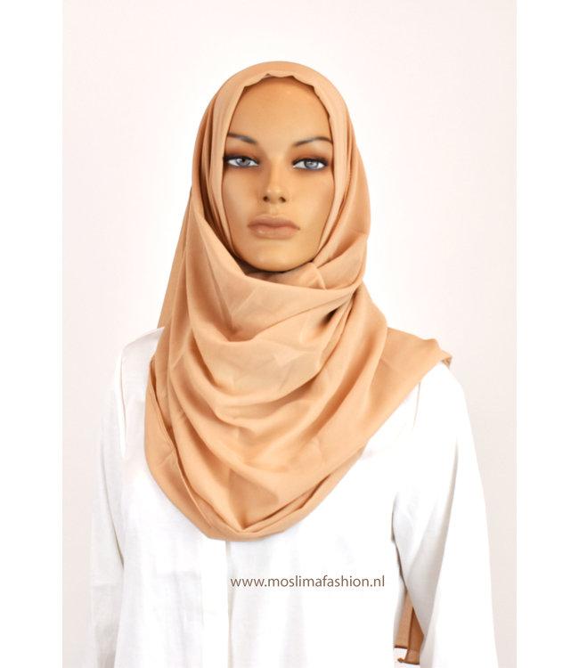 Sófani Chiffon scarf - Moccasin