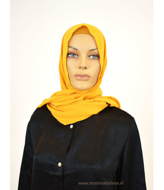 Sófani Chiffon scarf - Saffran