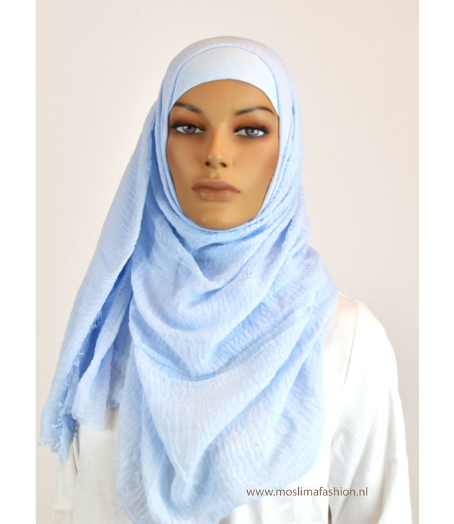 Sófani Skin hijab - Baby blauw