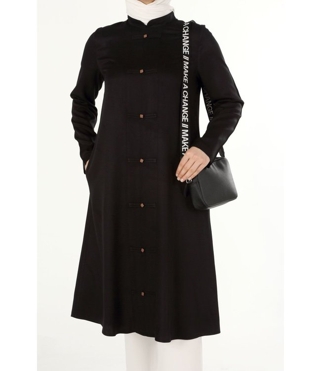 ALLDAY Long tunic - black