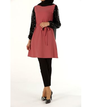Shiny sequin tunic - Pink