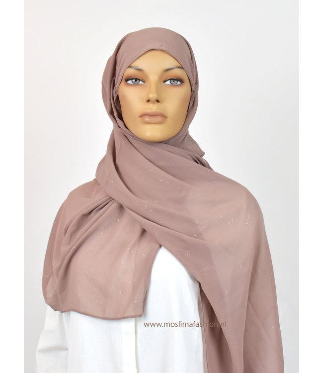 Sófani Chiffon scarf - Biscuit