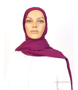 Sófani Chiffon scarf - Carmine
