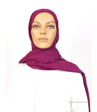Sófani Chiffon sjaal - Karmijn