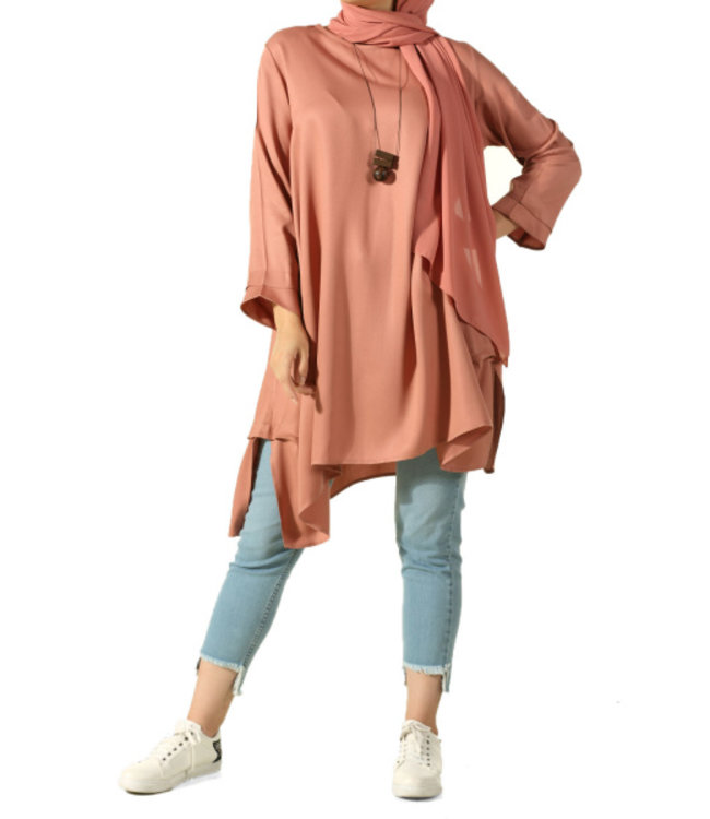 ALLDAY Tunic with chain - Powder pink