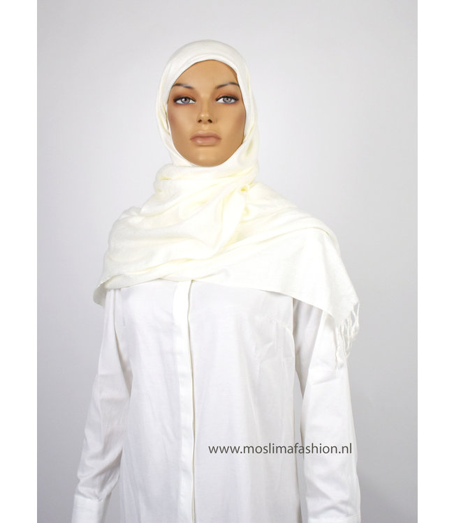 Sófani Luxury pashmina - White
